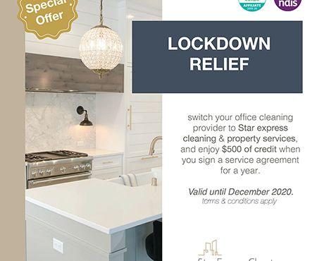 Lockdown Relief – $500 Credit