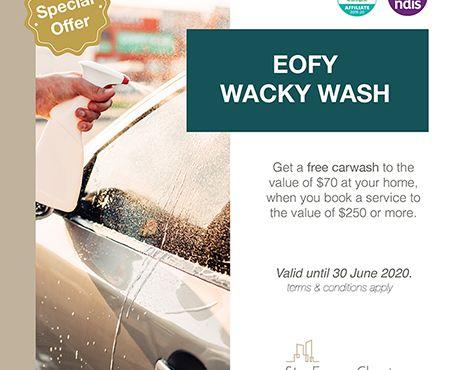 Wacky Wash – Free Carwash